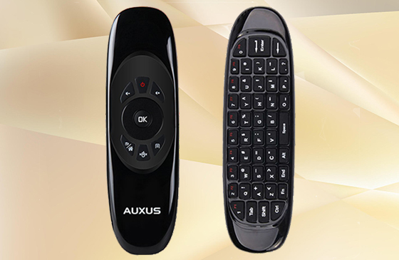 AUXUS Airmouse- Wireless Remote Controller for Smart TV, PC, etc