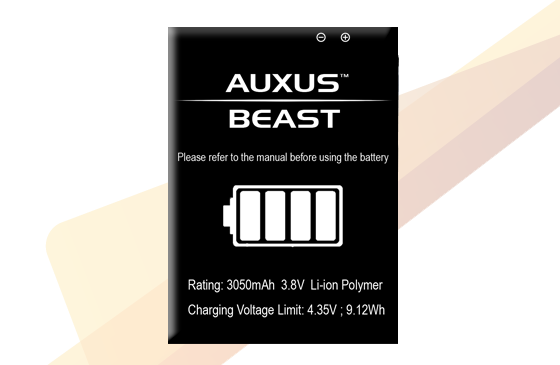 Auxus BEAST - Additional Battery