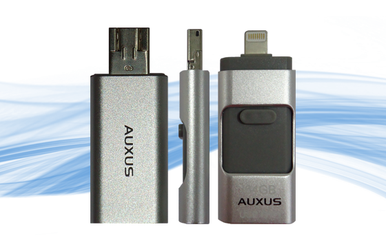 Auxus OTG PenDrive- 64GB for Android Phones/iPhones/PC/Laptops